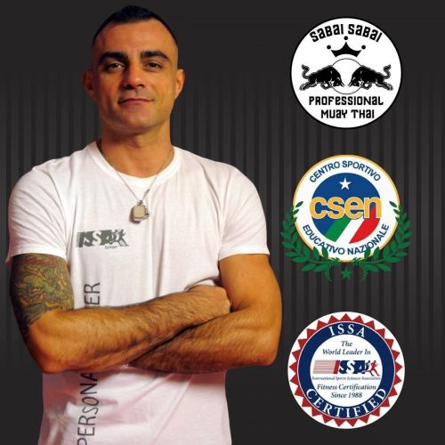 GUERINO PAVONE personal trainer certificato ISSA Europe