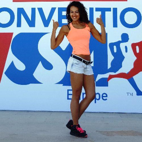 VERONICA SADEG SAID personal trainer certificato ISSA Europe
