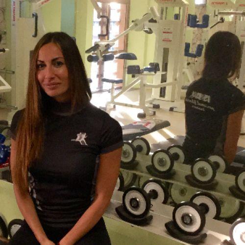 ALICE IARDELLA personal trainer certificato ISSA Europe