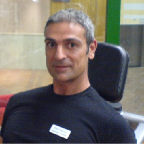 RAFFAELE PAGANO personal trainer certificato ISSA Europe