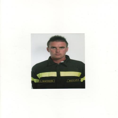 ANDREA MONFERRINI personal trainer certificato ISSA Europe