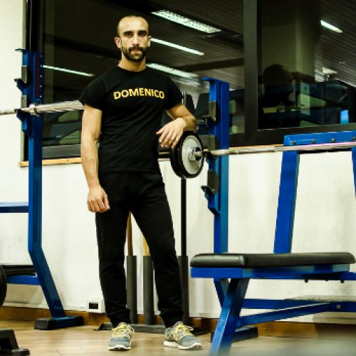 DOMENICO ANTONIO METELLO LAROSA personal trainer certificato ISSA Europe